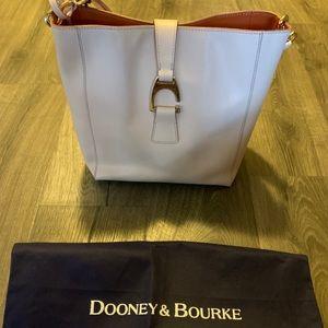 Dooney and Bourke blush leather shoulder bag